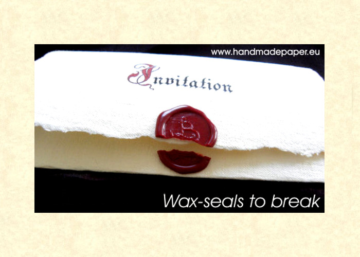 Personalized Wax seals for wedding Invitations & envelopes - Sealed ...