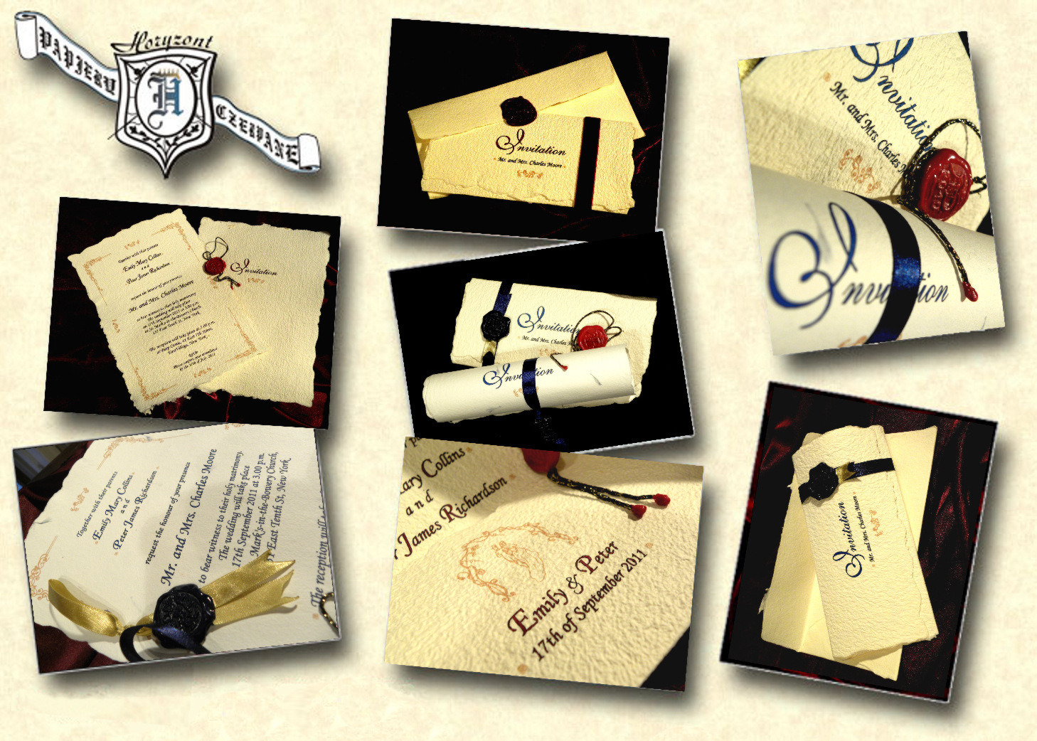 Cinderella Wedding Invitations One upon a time Fairy Tale